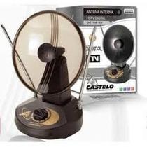 Antena Interna Castelo Parabolica M1035 C/seletor