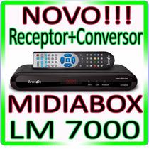 Receptor Analogico E Digital Hd + Conversor Tv Digital + Fm