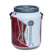 Cooler Térmico Para 12 Latas Cerveja Budweiser Com Alça Novo