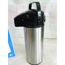 Garrafa Térmica Aço Inox Com Ampola De Vidro 1.9 L