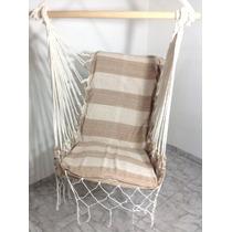 Cadeira Artesanal Para Varanda Rede - Pronta Entrega