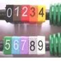 Marcador De Cabo De Rede Utp Anilha Números Pacote C/ 100 Pç