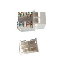 Conector Jack Rede Fêmea Rj45 Keystone Cat5e Branco Nexans