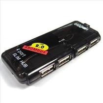 Mini Hub Usb 04 Portas 2.0 P/ Pc E Notebook