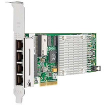 Rede Hp Nc375t Gigabit Quad 4 Port Pci-express 4 Porta Pci-e