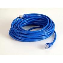 Cabo De Rede Ethernet 30 Metros Internet Crimpado