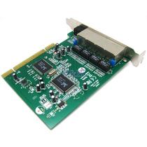 Adaptador De Rede 4 Portas Pci 100m 10/100 Mbps