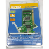Placa Rede Pci Gigabit 10/100/1000 Mbps - Tenda Tel9901g