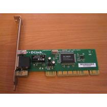 Placa De Rede Pci D-link Dfe-520tx 10/100mbps Fast Ethernet