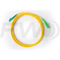 10x Patch Cord Fibra Lc Apc - Sc Apc Sm Sx 3.0mm 2mts 10peça