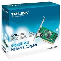 Placa De Rede Pci-e 101001000 Mbps Tg-3269 Tp-link ®