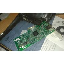 Placa De Rede Gigabit Broadcom Pcie X4 - Ibm 39y6070 1 Porta