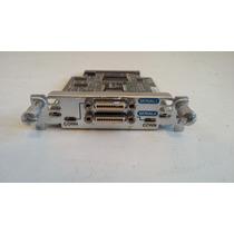 Placa Serial Cisco Wan 2 Portas Hwic 2t Para Roteadores