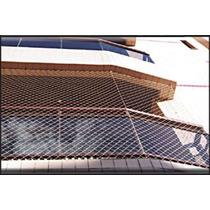 Rede De Proteção Malha 50mmx50mm P/ Sacadas Escadas