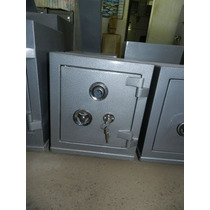 Cofre Aço Mecânico Chave Resistente Ac 05 Guardar Dinheiro