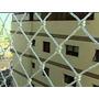 Rede De Proteção Para Janela E Sacada Com Kit De Instalação