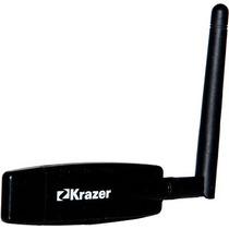 Adaptador Usb Wireless 500mw 150mbps Krazer Kr-5212bgn