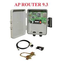 Kit Provedor Ap Router 9.3 + Fonte Poe + Pigtail Sem Antena