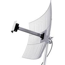 Antena De Grade Aquário Mm-2420 2.4 Ghz 20 Dbi Cabo De 1m