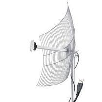 Antena Usb Parábola De Grade 2.4 Ghz 25 Dbi