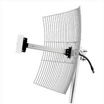 Mm-2420 Antena Parábola De Grade 2.4 Ghz 20 Dbi