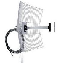 Mm2425f10 Antena Parábola De Grade 2.4 Ghz 25 Dbi C Cabo 10m