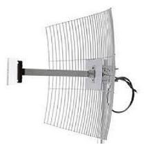 Mm2420f1 Antena Parábola De Grade 2.4 Ghz 20 Dbi Com Cabo 1m