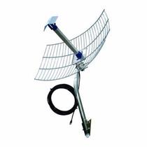 Antena Internet Grade 2.4ghz 25db E Cabo 10m Usb - Pqai-2510