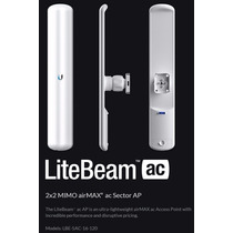 Litebeam Lbe 5ac 16 120 16dbi 120º 5ghz Ubiquiti Basestation