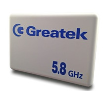 Antena Setorial 30° Alto Ganho 16 Dbi 5.8ghz Greatek Nova