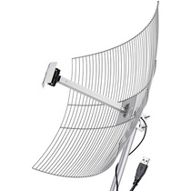Antena Grade Usb 10m 2.4ghz 25dbi Usb-2510 Aquário