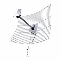 Antena Parábola De Grade Aquário 2.4ghz 25dbi Mm-2425