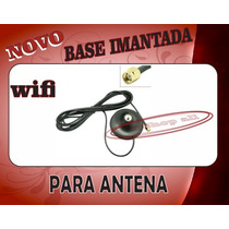 Base Imantada Para Antena Wireless 3 Metros