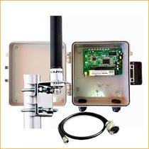 Kit Provedor Wireless Pcba 100 Mw+ Caixa + Fonte + Antena 12