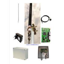 Kit Provedor 1000mw Antena 12dbi + Pcba+ Pigtail+ Fonte Poe