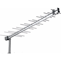 Antena Digital Externa Terrestre+mastro+cabo Vhf/uhf/ Hdtv