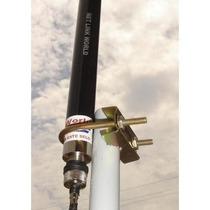 Antena Omni 25dbi Pro Wireless Alcance 4.8km Usando Ap 400mw