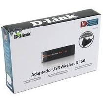 Adaptador Usb Wireless N 150 D-link