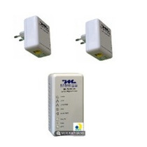 Kit 2 Plc500 + 1 Plc500w Internet Na Rede Eletica Powerline