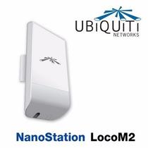 Ubiquiti Nanostation Loco M2 Airmax Cpe 2.4ghz 8dbi Poe Mimo
