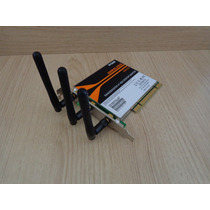 Placa De Rede D-link Adaptador Wireless Dwa-547 Pci 802.11