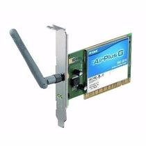 Placa De Rede Wireless D-link Dwl-g510