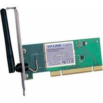 Placa De Rede Tp-link Tl-wn550g 54mbps Pci Nova -d12