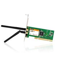 Placa Rede Pci Wireless Tenda 300mbps 2 Antenas W322p