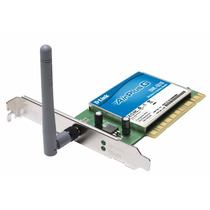 Placa De Rede Wireless D-link Dwl-g510 54mbps Pci