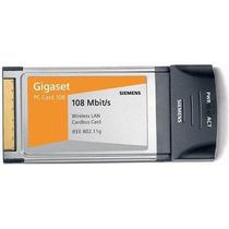 Adaptador Pcmcia Sem Fio Pc Card 108 Mbit/s - Gigaset