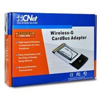 Adaptador Cnet Cwc-854 54mbps Wireless-g Cardbus Pcmcia