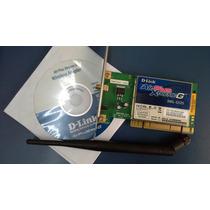 Placa Wireless D-link Dwl-g520