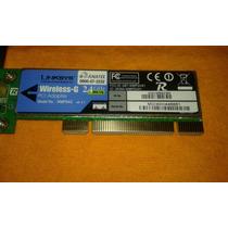 Placa De Rede Wireless Linksys Wmp54g,original.