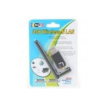 Placa - Usb 2.0 2.4ghz 802.11b/g/n 150mbps Wifi/wlan